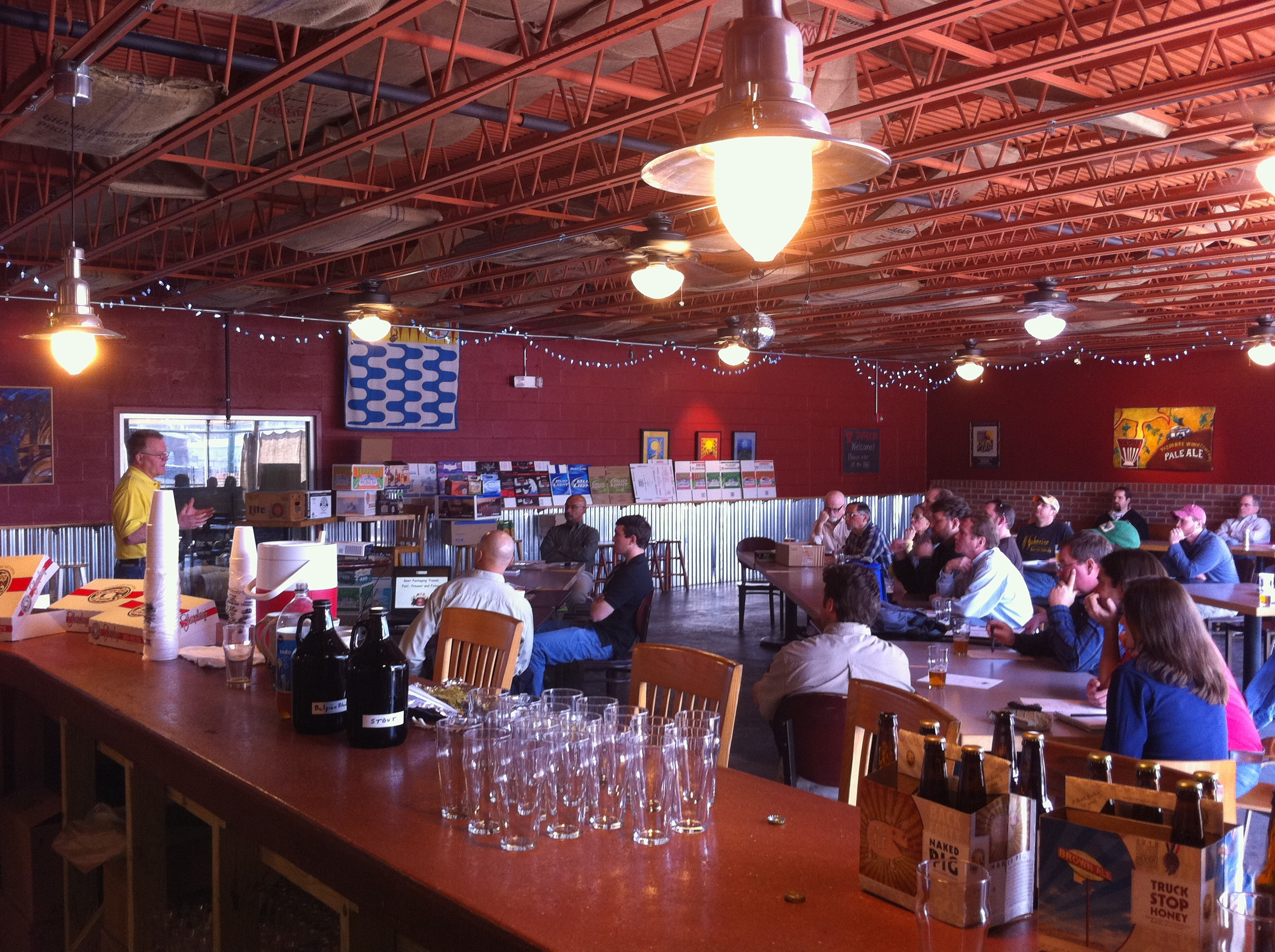 District Meeting - March 12, 2011 - Yazoo Brewing, Nashville, TN
